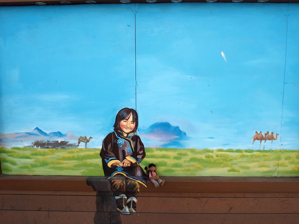 Gefunden habe ich zum Schluss auch noch eine mongolische Freundin.